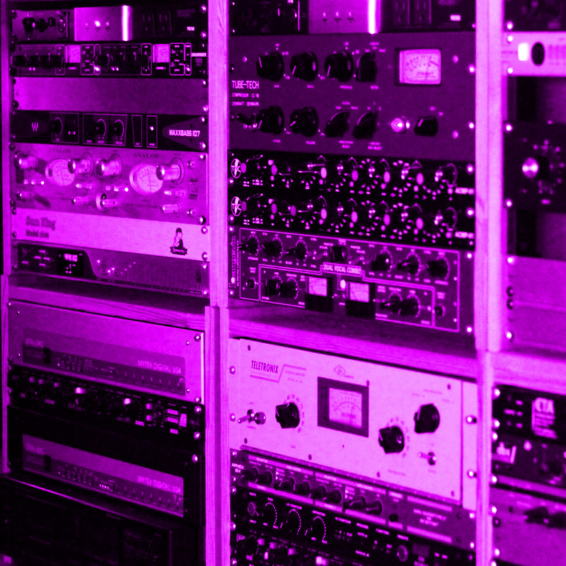 Remixing and music production - gear in Andy Sikorski's studio