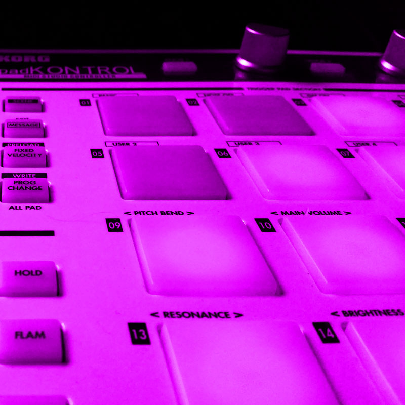 Remixing - production tools in Andy Sikorski's studio